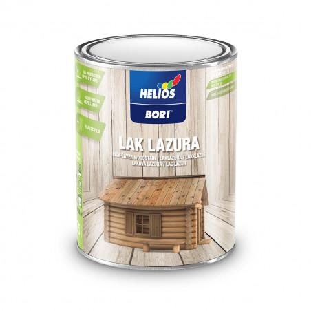 Лак Лазура защита за дърво: прозорци, врати, щори, огради, ламперии и облицовки Helios BORI