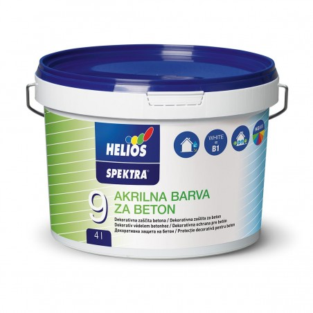 Акрилна боя за бетон HELIOS SPEKTRA