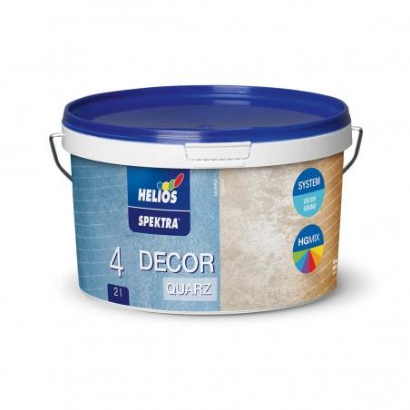 Пясъчна мазилка декоративна HELIOS SPEKTRA DECOR Quartz