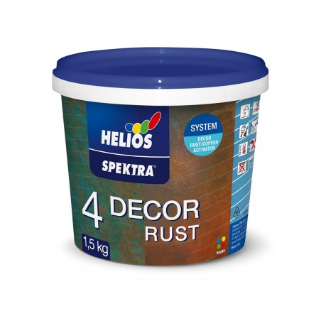 Декоративна техника HELIOS SPEKTRA DECOR RUST - ръжда