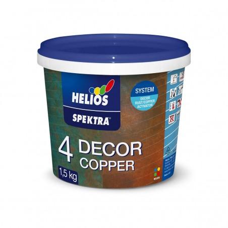 Декоративна техника HELIOS SPEKTRA DECOR Copper ръжда ефект