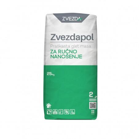 Прахообразна шпакловка за ръчно нанасяне ZVEZDA ZVEZDAPOL